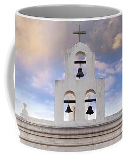 Coffee Mug featuring the photograph Three Bells by Scott Kemper