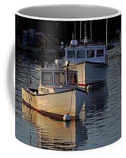 Three Boats In Maine Coffee Mug