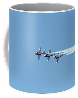 Three Canadian Snowbird Fighters Coffee Mug