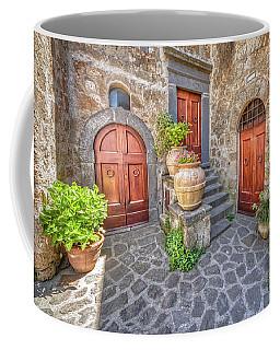 Three Doors Of Tuscany Coffee Mug