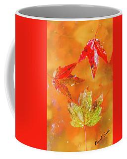 Three Fallen Leaves. Coffee Mug