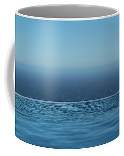 Three Layers Of Blue Coffee Mug