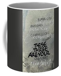 Three Treasures Coffee Mug