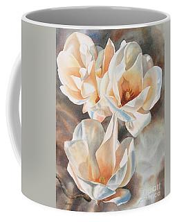 Three White Magnolias Coffee Mug