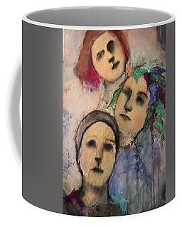 Threes Coffee Mug