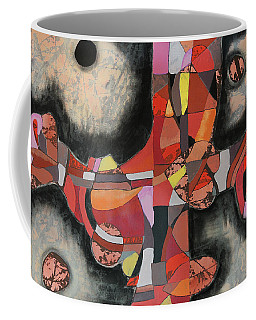 Coffee Mug featuring the painting Thresher by Mark Jordan