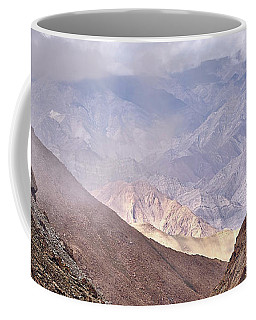 Coffee Mug featuring the photograph Through The Valley by Whitney Goodey