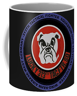The 313th Tactical Fighter Squadron Coffee Mug