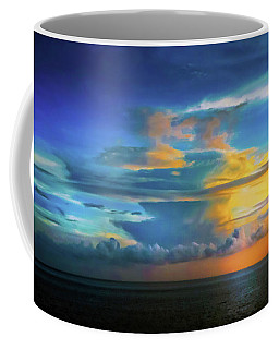 Thunder At Sun Set Coffee Mug