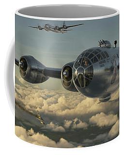 Ww2 Digital Art Coffee Mugs