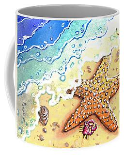 Tidal Beach Starfish Coffee Mug