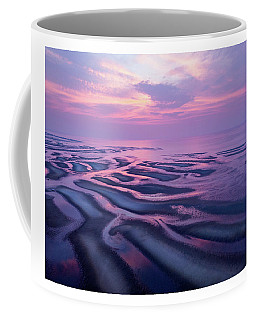 Tidal Flats Sunset Coffee Mug