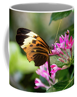 Tiger Longwing Butterfly Drinking Nectar  Coffee Mug