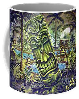 Tiki Genie's Sacred Pools Coffee Mug