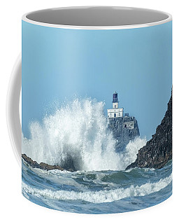 Tillamook Rock Light House, Oregon - Terrible Tilly Coffee Mug