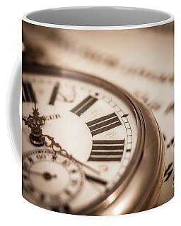 Time And Words Coffee Mug