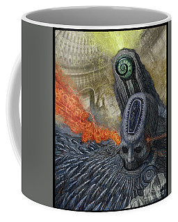 Time Encroaching  Coffee Mug