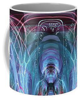 Coffee Mug featuring the digital art Time Traveler by Robert G Kernodle