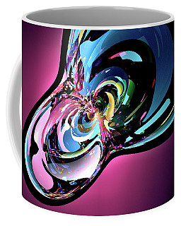 Coffee Mug featuring the digital art Timothy by Missy Gainer