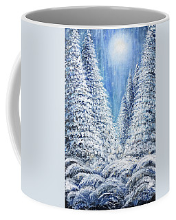 Tim's Winter Forest 2 Coffee Mug