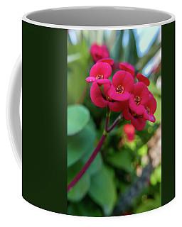 Tiny Red Flowers Coffee Mug