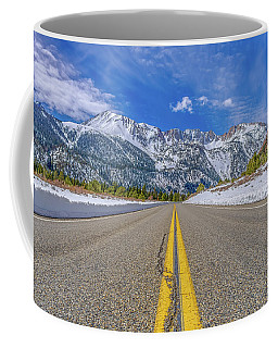 Coffee Mug featuring the photograph Tioga Pass Yosemite National Park by Scott McGuire