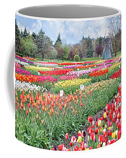 Tip Toe Through The Tulips  Coffee Mug