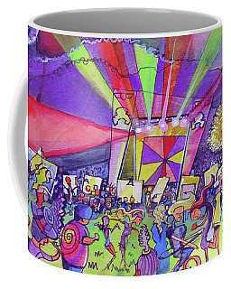 Arise Fest 2019 Live Painting While Tipper And Clozee Played. Coffee Mug