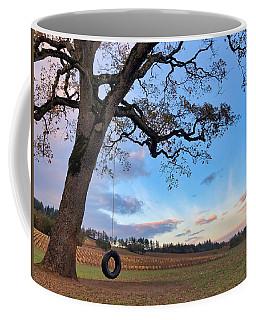Tire Swing Tree Coffee Mug