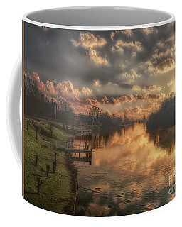 Coffee Mug featuring the photograph To Infinity And Beyond by Leigh Kemp