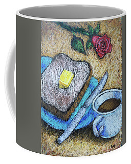 Toast And Roses Coffee Mug