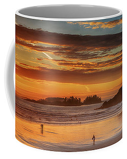 Tofino Beach Sunset 1 Coffee Mug