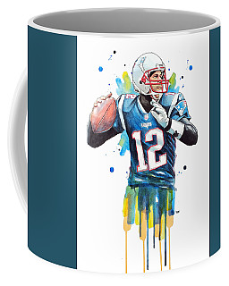Tom Brady, Patriots, Nfl Coffee Mug