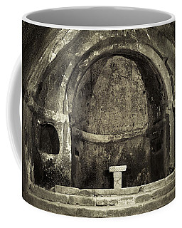 Tomb And Altar In The Monastery Of San Pedro De Rocas Coffee Mug