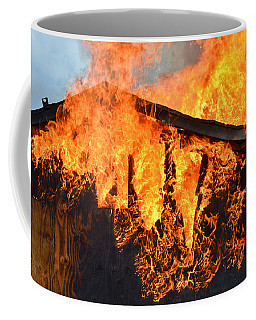 Coffee Mug featuring the photograph Too Hot by Carl Young