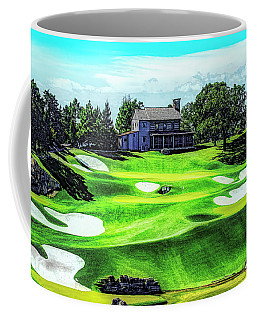 Coffee Mug featuring the photograph Top Of The Rock Golf Course - Branson Missouri by Mike Braun
