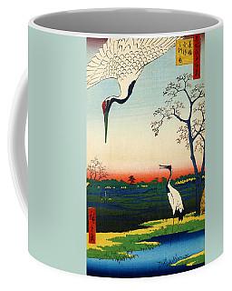 Top Quality Art - Meisho Edo Hyakkei-minowa Kanasugi-mikawashima Coffee Mug