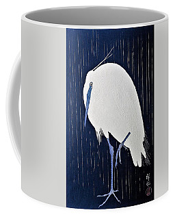 Top Quality Art - Rains White Egret Coffee Mug