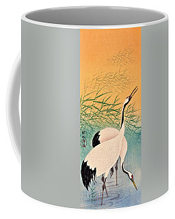 Top Quality Art - Two Japanese Crane Coffee Mug