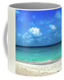 Topical Beach View Anguilla Coffee Mug