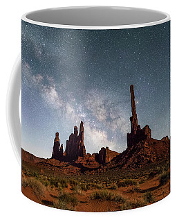 Totem Pole, Yei Bi Che And Milky Way Coffee Mug