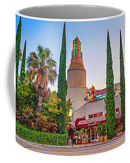 Tower Cafe Sunset- Coffee Mug