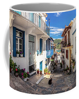 Town Of Skopelos Coffee Mug