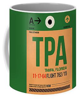 Tpa Tampa Luggage Tag I Coffee Mug