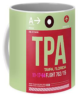 Tpa Tampa Luggage Tag II Coffee Mug