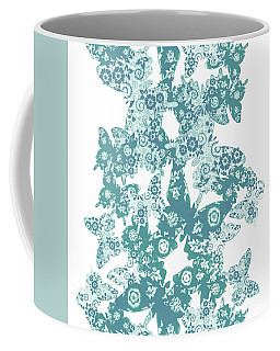 Traces Of Patterned Beauty Coffee Mug