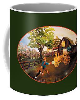 Tractor And Barn Coffee Mug