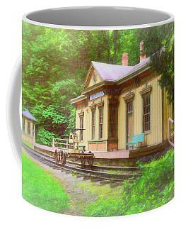 Railroad Station Photographs Coffee Mugs