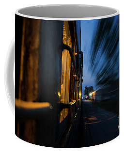 Train In Motion Coffee Mug