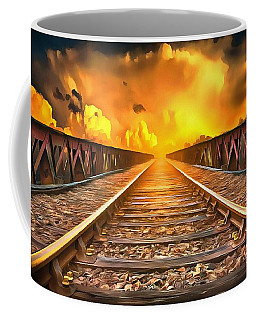 Train To Heaven Coffee Mug